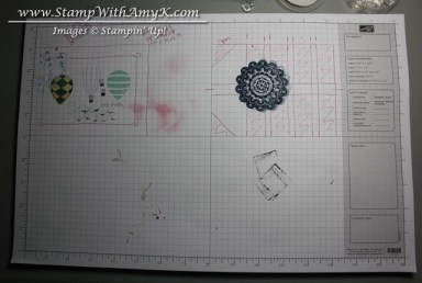 Stampin' Up Grid Paper 1