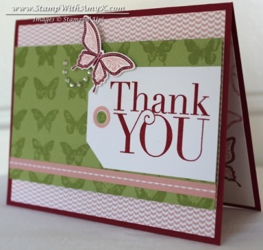 Another Thank You - Stamp With Amy K