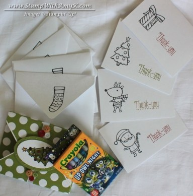 Color Me Christmas 4 - Stamp With Amy K