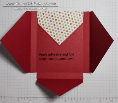 Crayon & Notecard Holder Tutorial 3 - Stamp With Amy K