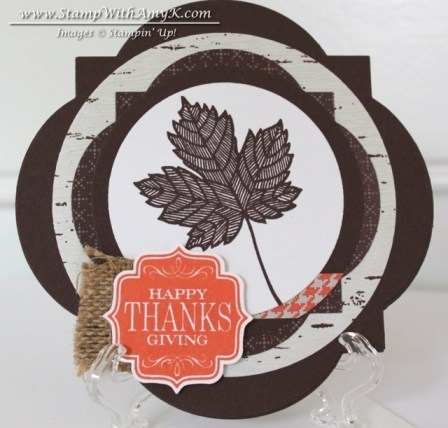 Magnificent Maple - Stamp With Amy K