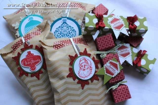 Christmas Packages - Stamp With Amy K
