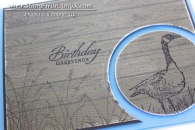 Hardwood & Wetlands 1 - Stamp With Amy K