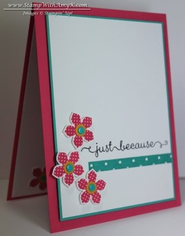 Petite Petals 1 - Stamp With Amy K