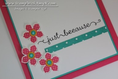 Petite Petals 2 - Stamp With Amy K