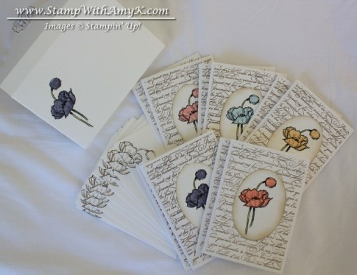 Simply Sketched Note Card Pack - Stamp With Amy K