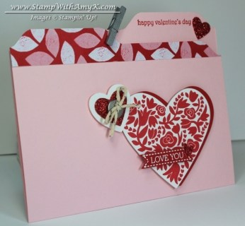 Flowerfull Heart 1 - Stamp  With Amy K