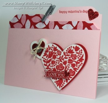 Flowerfull Heart 2 - Stamp With Amy K