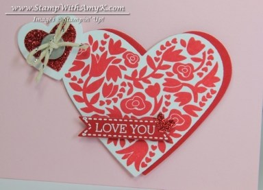 Flowerfull Heart 3 - Stamp With Amy K
