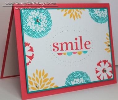 Petal Parade 1 - Stamp With Amy K