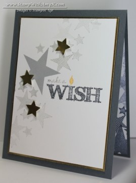 Make a Wish - Stamp With Amy K
