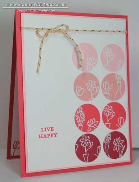 Vivid Vases 1 - Stamp With Amy K