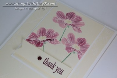 Peaceful Petals 3 - Stamp With Amy K