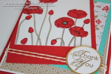 Pleasant Poppies 2 - Stamp With Amy K