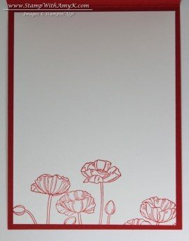 Pleasant Poppies 3 - Stamp With Amy K