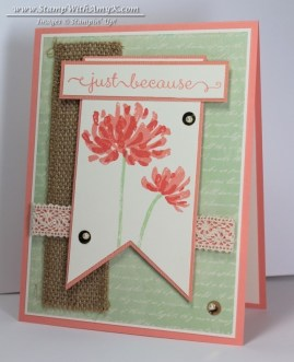 Too Kind 2 - Stamp With Amy K