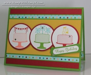 Make A Cake 2 - Stamp With Amy K