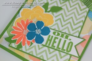 Oh, Hello 1 - Stamp With Amy K