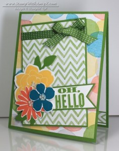 Oh, Hello - Stamp With Amy K