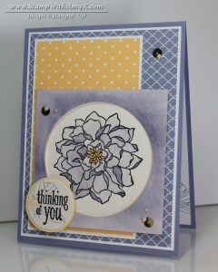 Peaceful Petals 2 - Stamp With Amy K