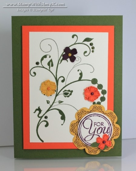 Flowering Flourishes - Stamp With Amy K