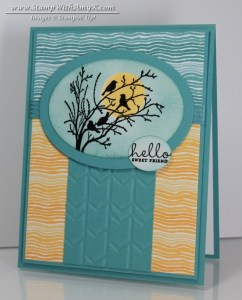 Serene Silhouettes 2- Stamp With Amy K
