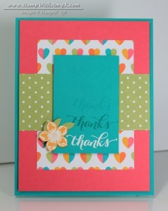 Another Thank You 2 - Project Life - Stamp With Amy K