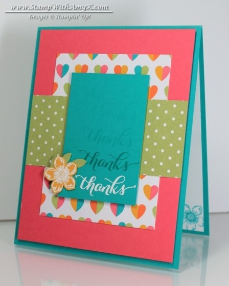 Another Thank You - Project Life - Stamp With Amy K