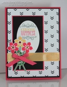 Choose Happiness 2 - Stamp With Amy K