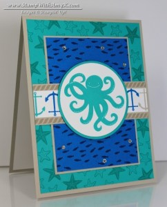 Sea Street 1 - Stamp With Amy K