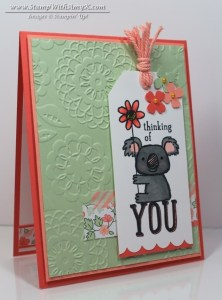 Kind Koala 1 - Stamp With Amy K