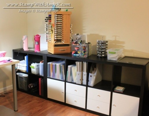 My Stamp Room Paper Storage - Stamp With Amy K