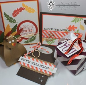 November Card Class - Stamp With Amy K