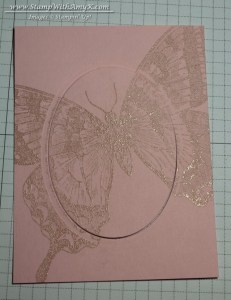 Swallowtail 3 - Stamp With Amy K