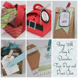 Tags Bags and Boxes Class