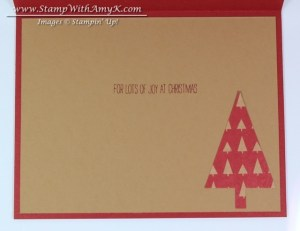 Festival of Trees 5 - Stamp With Amy K