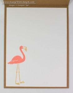 Flamingo Lingo 4 - Stamp With Amy K