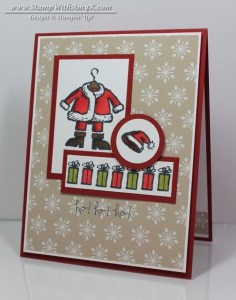 Get Your Santa On 1 - Stamp With Amy K