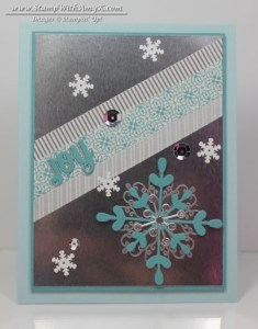 Letterpress Winter 2 - Stamp With Amy K