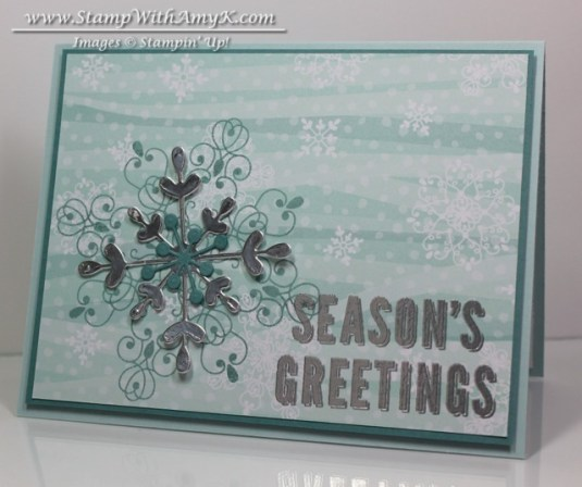 Letterpress Winter - Stamp With Amy K