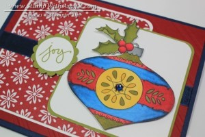 Christmas Bauble 3 - Stamp With Amy K