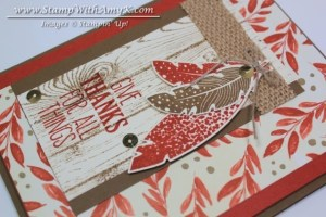 Four Feather 2 - Stamp With Amy K