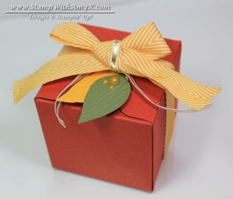 Gift Box Punch Board - Stamp With Amy K