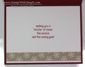 Santa Stache 4 - Stamp With Amy K
