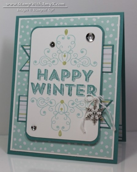 Wintertime - Stamp With Amy K