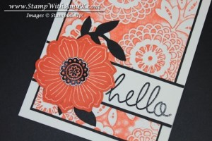 Bloom For You 3 - Stamp With Amy K