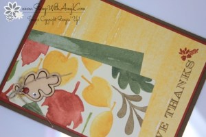 Holiday Invitation 3 - Stamp With Amy K