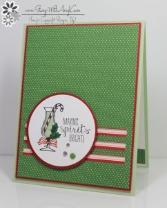 Making Spirits Bright 1 - Stamp With Amy K