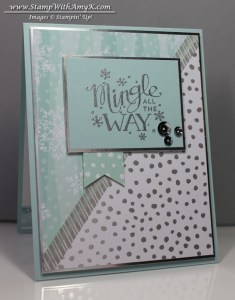 Mingle All The Way 1 - Stamp With Amy K