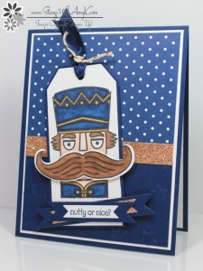 Santa Stache 1 - Stamp With Amy K